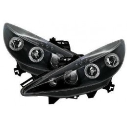 Tuning Peugeot 207 front headlights