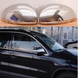 Chrome mirror covers for VW Tiguan