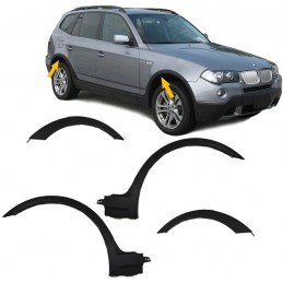 Flared wings for BMW X 3