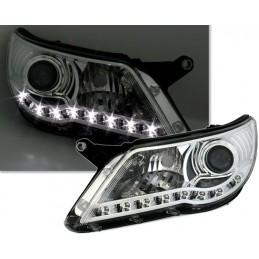 Front headlights led to VW Tiguan