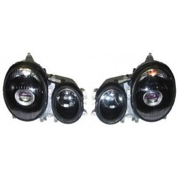 Front lights the Mercedes E W210