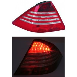 Taillights led the class Mercedes S W220