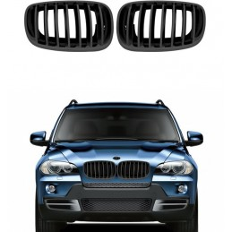 Black grille for BMW X 6