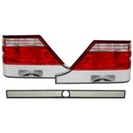 White red rear lights for Mercedes class S W140