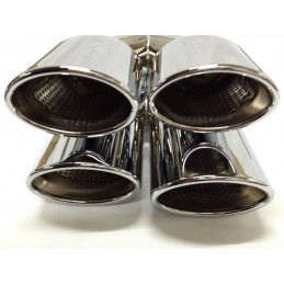 Tips of outputs sports exhaust Mercedes