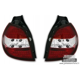 Renault Clio 3 lights Led red white rear