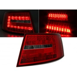 Lights rear led Audi A6 red smoked