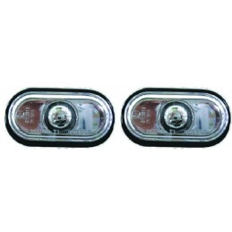 Flashing white repeaters for Renault Clio 2