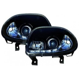 Front headlights led Renault Clio 2