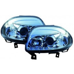 Renault Clio 2 led front lights