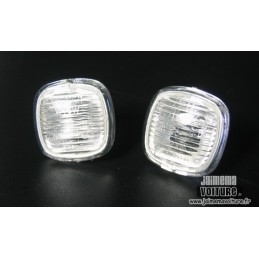 Pair of white 883 repeaters