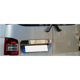 Wand of trunk chrome aluminum (two doors) VW T5 CARAVELLE