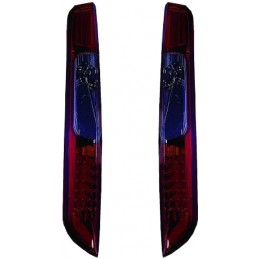 Ford Focus - red/smoked led taillights