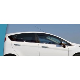 Outline of window chrome alu 8 Pcs stainless steel FORD FIESTA