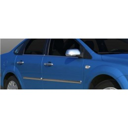 Outline of window chrome alu 4 Pcs stainless steel FORD FOCUS 2005 - 2008