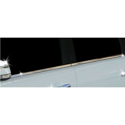 Outline of window chrome alu 4 Pcs stainless steel FORD FOCUS 2008 - 2011