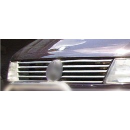 Wand of grille chrome alu 10 Pcs stainless MERCEDES VITO W638