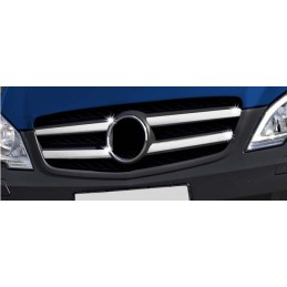 Wand of grille chrome alu 4 Pcs stainless MERCEDES VITO W639