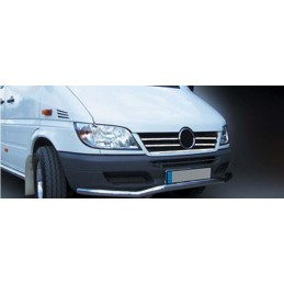 Wand of grille chrome alu 5 Pcs stainless MERCEDES SPRINTER 2000 - 2006 W901