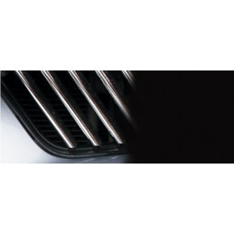 Wand of grille chrome alu 24 Pcs stainless steel MITSUBISHI COLT