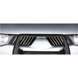 Wand of grille chrome alu 14 Pcs stainless steel MITSUBISHI L 200