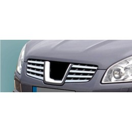 Grille chrome alu 8 Pcs NISSAN QASHQAI stainless steel wand