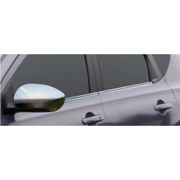 Outline of window chrome aluminum 6 Pcs stainless NISSAN X-TRAIL