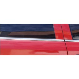 Outline of window chrome alu 4 Pcs stainless OPEL ASTRA G
