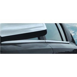 Outline of window chrome alu 4 Pcs stainless OPEL ASTRA H 5 doors
