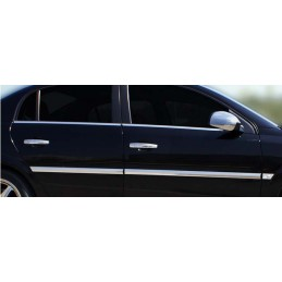 Shell mirrors chrome aluminum 2 Pcs stainless OPEL VECTRA C