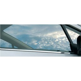 Outline of window chrome alu 4 Pcs stainless RENAULT CLIO 2