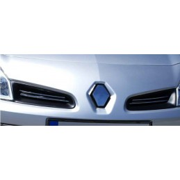 Wand of grille chrome alu 4 Pcs stainless RENAULT CLIO 3