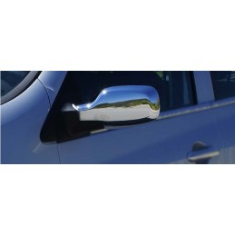 Shell mirrors chrome aluminum 2 Pcs stainless RENAULT CLIO 3