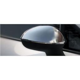 Shell mirrors chrome aluminum 2 Pcs stainless steel SEAT EXEO