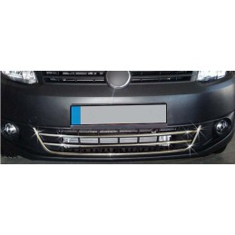 Chrome Central grille Set 3 Pcs stainless steel CADDY TREND headbands
