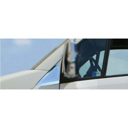 Outline of window chrome 2 Pcs stainless steel (Quarter) CRAFTER 2006-2012