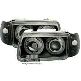 Front lights angel eyes VW Polo