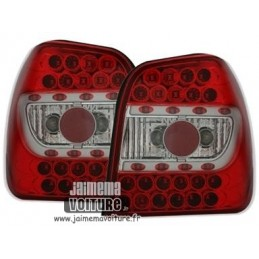 VW Polo 6N lights rear red Led