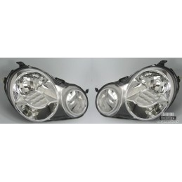 VW Polo 9N front headlights
