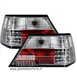 Luces traseras Mercedes W124 LED cromo