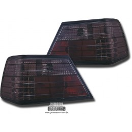 Mercedes W124 LED smoked rear lights