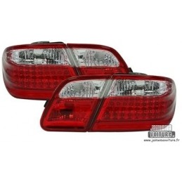 Fires back Mercedes class E W210 LED red white
