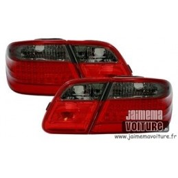 Fires back Mercedes class E W210 LED red smoke