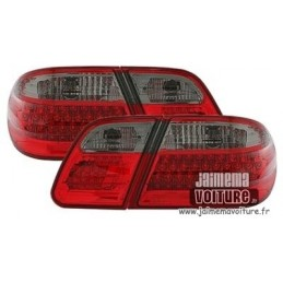 Fires back Mercedes E W210 LED red smoke 1 class