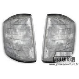 Pair of white flashing the W201 Mercedes class C