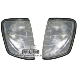 Pair of blinkers the Mercedes class E W124 white
