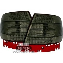 Luces traseras led Audi A4 negro