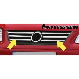 Wand of grille chrome alu Opel Astra H
