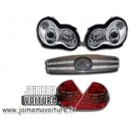 Pack phares feux Mercedes Classe C 2000-2004