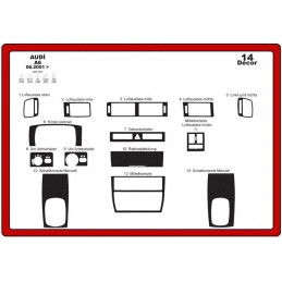 Trims dashboard for AUDI A6...
